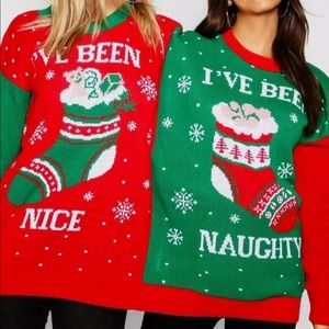 Sweaters - THE BEST UGLY SWEATER 👚👕🎀🎄